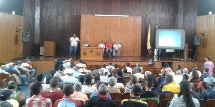 Encuentro de Trabajadores: contra el imperialismo, el golpismo de Guaidó y para enfrentar al gobierno de Maduro