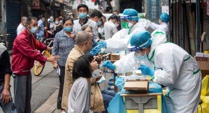 Preocupación en China por brotes de contagios con la variante Delta