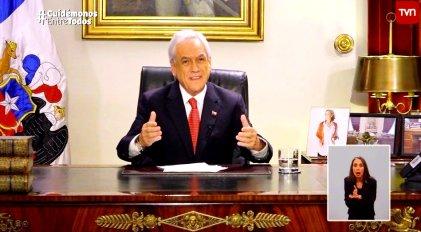 Chile respondió con cacerolazos a las medidas de Piñera