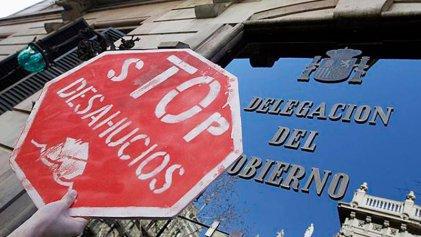 Así no se puede vivir: récord histórico de desalojos en el Estado español