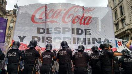 Coca-Cola: fuerte denuncia en la Secretaría de Trabajo