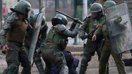 Brutal aumento de la represión policial en Chile tras la aprobación de ley antisaqueos