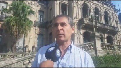 Juan Veliz en Los Primeros destaca el contundente paro docente