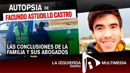 [Video] Autopsia de Facundo Castro: las conclusiones de la familia y sus abogados