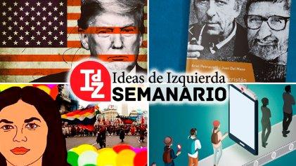 En IdZ: a dónde va EE. UU.; 12-O, el genocidio indígena; (libro) Althusser y Sacristán, y más