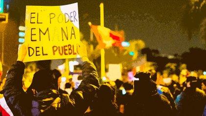 Estallido social y crisis del régimen en Perú