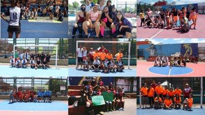 Jóvenes del Bajo Flores realizaron un torneo de fútbol femenino en solidaridad con Guernica