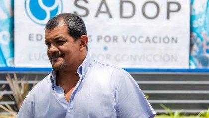 Martín Lucero se molesta ante las críticas, pero ¿SADOP, consultó a las bases o no?