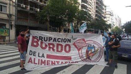 Alimentación: la oposición marchó por aumento salarial