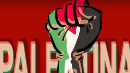 Basta de bombardeos ¡Palestina libre!