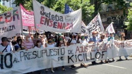 Suteba Ensenada rechaza la presencialidad sin condiciones y vota un plan de acción