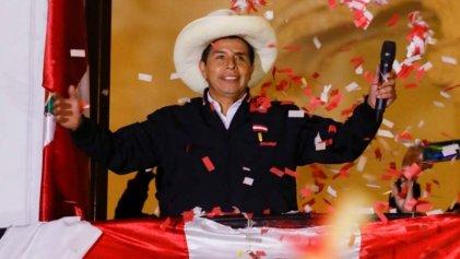 El conteo de votos en Perú da ganador a Pedro Castillo