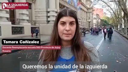 [Video] Docentes de Santa Fe se pronuncian por la unidad de la izquierda