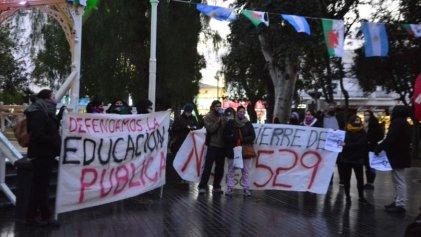 Fuerte paro docente en Chubut