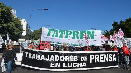 Federación Argentina de Trabajadores de Prensa denuncia políticas antisindicales de ADIRA