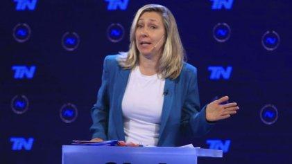 Myriam Bregman, representante de la izquierda argentina, enfrentó al bolsonarista Milei en debate televisivo