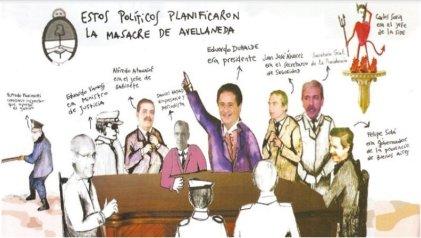 Masacre de Avellaneda: el plan en el palacio, las balas en la estación