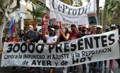"""[Video] """"Marchamos porque no hay que abandonar esta fecha ni las calles."""""""