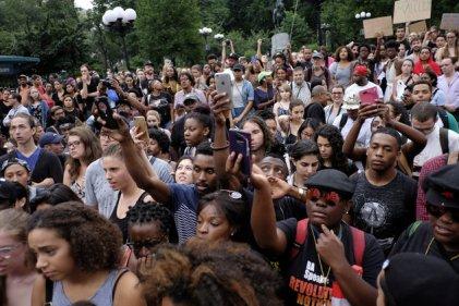 Segundo día de protestas contra el racismo en Estados Unidos