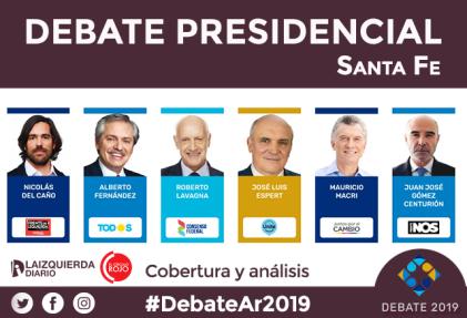 [VIDEO] Mirá el primer debate presidencial obligatorio