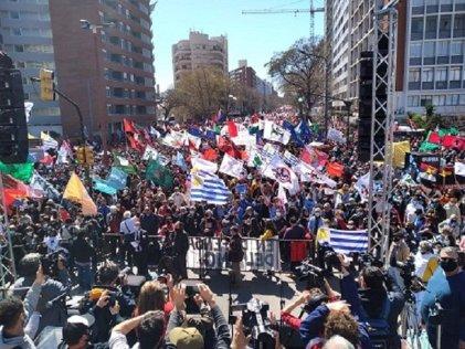 Uruguay: alto acatamiento al paro de la central obrera PIT-CNT