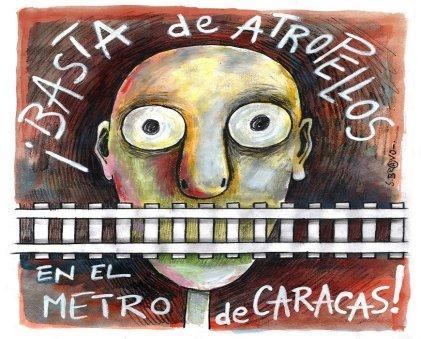 Trabajadores del Metro de Caracas llaman a concentración