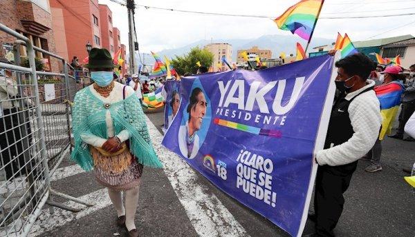 Yaku Pérez denuncia posible fraude y moviliza a sus partidarios